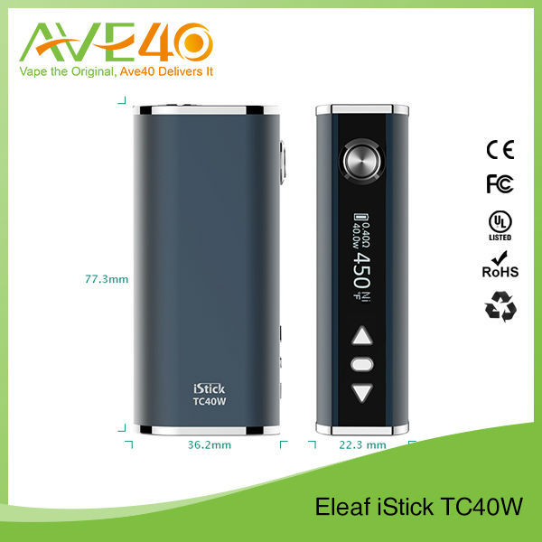 2015 Best Eleaf tc40w 4 colors competitive price light-shock delivery eleaf i stick original wholesale eleaf istick