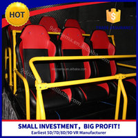 2016 Hot Sale 8D/9D/Xd Cinema Motion 5D Ride 9D Cinema Simulator With Chair