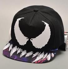 Hot selling cool monster teeth high quality hiphop snapback baseball caps and hats fhishing sports caps