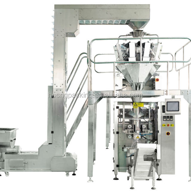 HS-520A high accuracy chips packing machine/snack packing machine/candy packing machine
