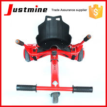 Newest adjustable Hoverkart for two wheels self balance scooter, Hover Cart for Hover board go kart Sitting Chair, Hovercart