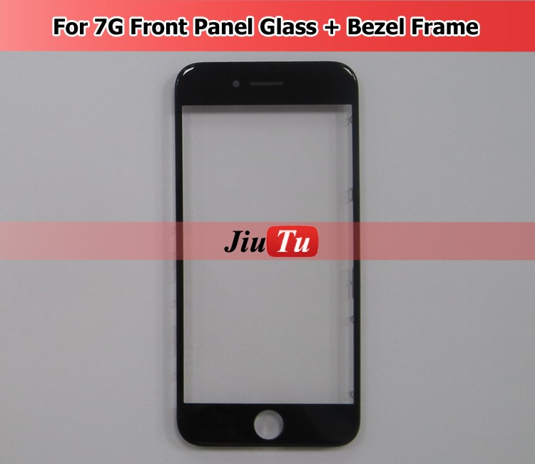 Front Glass Lens Bezel Frame For Iphone 7 Outer Screen Touch Panel Repair Replacement for 7 <strong>G</strong>