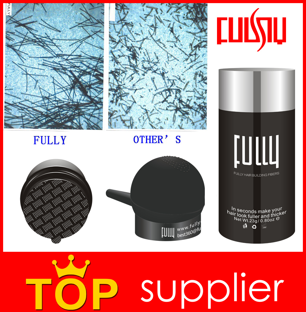 Hair spray FULLY hair building fibers powder CPSR certificates