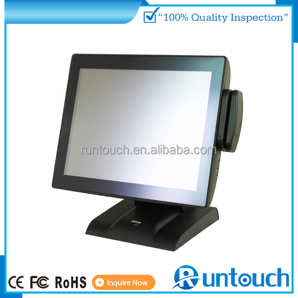 Runtouch RT-6800 New Fanless Full Flat POS system to help grow business retailer or multi-store restaurant