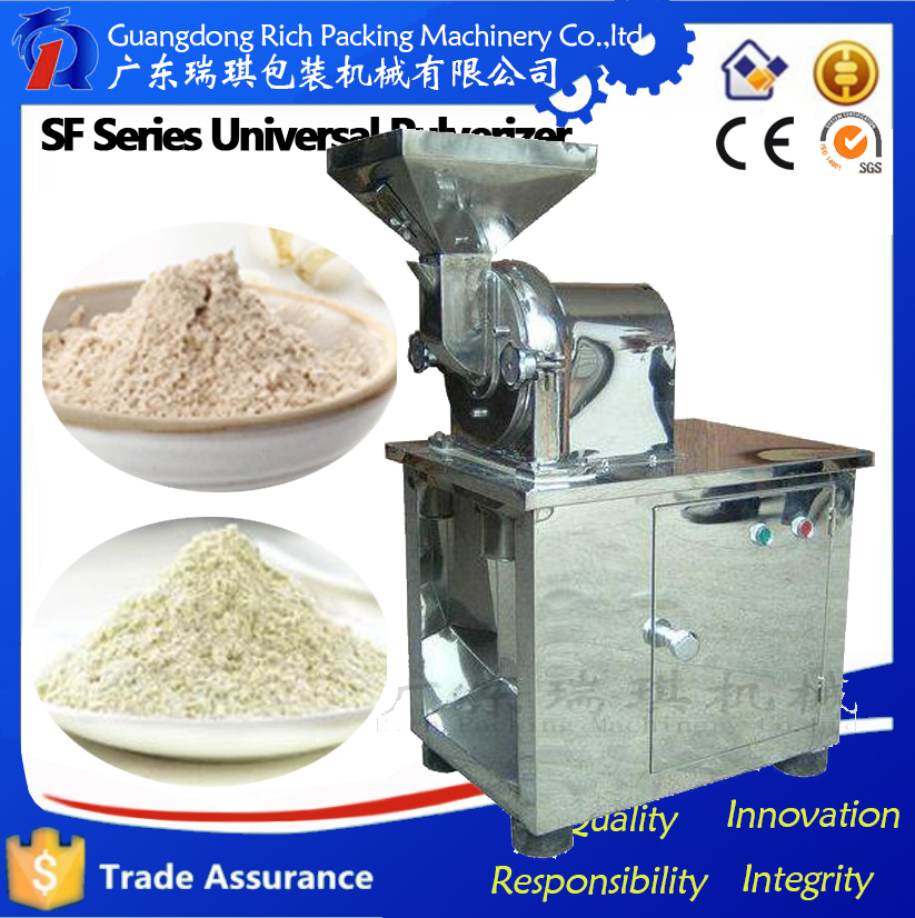 2016 Rich Packing cocoa bean grinding machine/food grinder