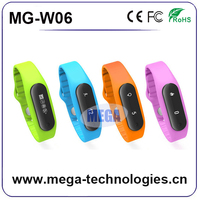 Bluetooth Bracelet Wristband Vibrating Call Alert LCD Caller ID For mobile phone, smart bluetooth fitness tracker bracelet