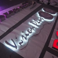 Contact Supplier! light up letters stainless steel diy led backlit channel letter sign