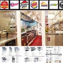 Professional Restaurant&Hotel Supplier Equipment Fast Food Restaurant