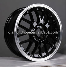 ZW-LB0015 15/16 inch factory cheap price chrome/silvery aluminum alloy wheel rim/car rim
