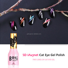 double head Magnet plate gel nail polish 3D cat Eyes magnets Magic sticker magnetic slice