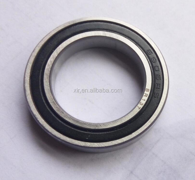Deep groove ball bearing 61906-2RS chrome steel bearing ABEC-1