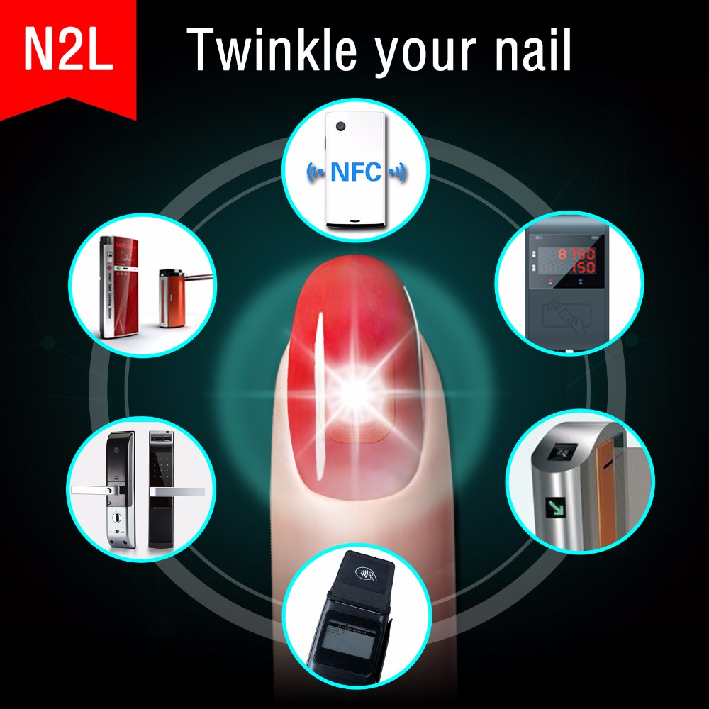 Jakcom N2l Smart Nail 2017 New Product Of Artificial Fingernails Nail Tips  False Polymer Clay W Human Finger Nails For Sell , Buy Nail Tips  False,Polymer