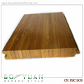 High gloss Carbonized Vertical bamboo flooring/solid bamboo floor
