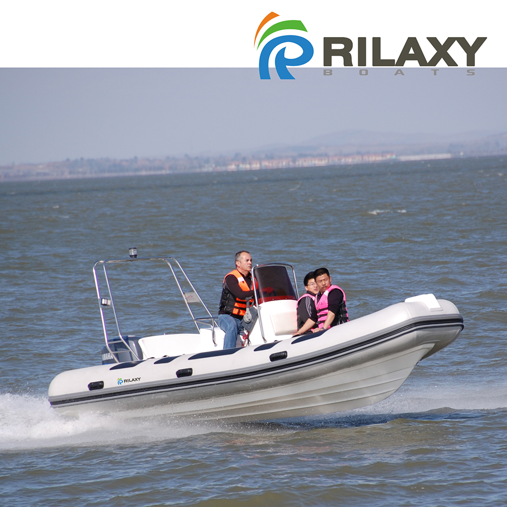 Rilaxy Factory Direct CE Certificated Rigid Inflatable Boat, RIB Inflatable Boat with 5 years' warranty
