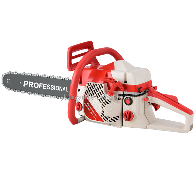 2-stroke powerful low vibration air cooling garden tool gasoline chain saw