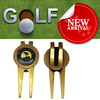 Custom design portable antique promotional golf divot tools