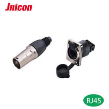 rj45 ethernet connector waterproof ip67 for LED display date connect