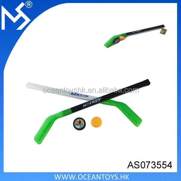 Wholesale cheap hockey sport plastic ice hockey stick toys for kids