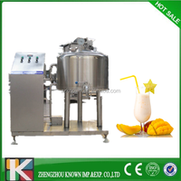 100-500L water cooling type small fresh milk pasteurization machine for sale