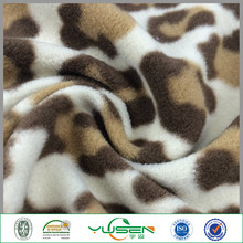 Knitting printed Train Printed Fleece Fabric for blanket