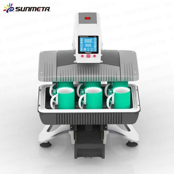 Sunmeta all in 1 Auto-Pneumatic 3D Sublimation mug t-shirt printing machine ST-420