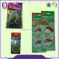 Cotton paper material tobacco scent air freshener