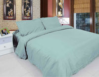 Poly Cotton Embroidered Bed Sheet Set