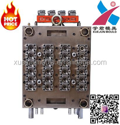 hot runner cosmetic bottle preform mould for 24 cavity