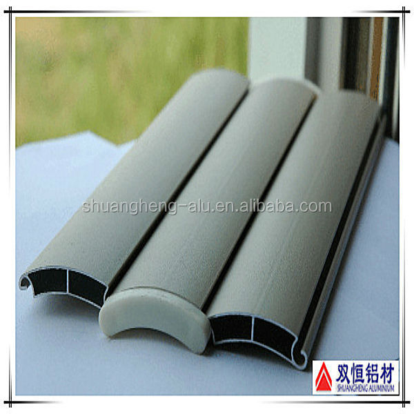 Powder sprayed aluminum extrusion profiles made by Shuangheng Aluminum