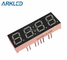 0.39 Inch Four Digits 7 Segment LED Display Yellow Green Color
