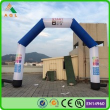 Best advertising products cheap inflatable advertising arch with blower for sale