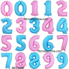 China factory wholesale in stock 40inches party Arabic numerals 0-9 adult party balloons