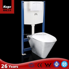 Bathroom Fittings Stainless Steel Used Portable Wall Hung Toilet for Sale