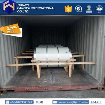 Tianjin Fangya ! prime hot rolled steel sheet in coil 0.72x1200mm GL Coils for wholesales