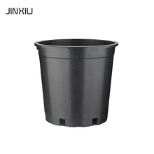 salable gallon flowerpot 5 gallon black nursery plastic flower pot