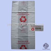 C-03-3 Biodegradable PE Plastic Charity Bag for Collection