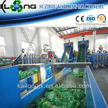 automatic pet bottle recycling machine with CE ISO certificate