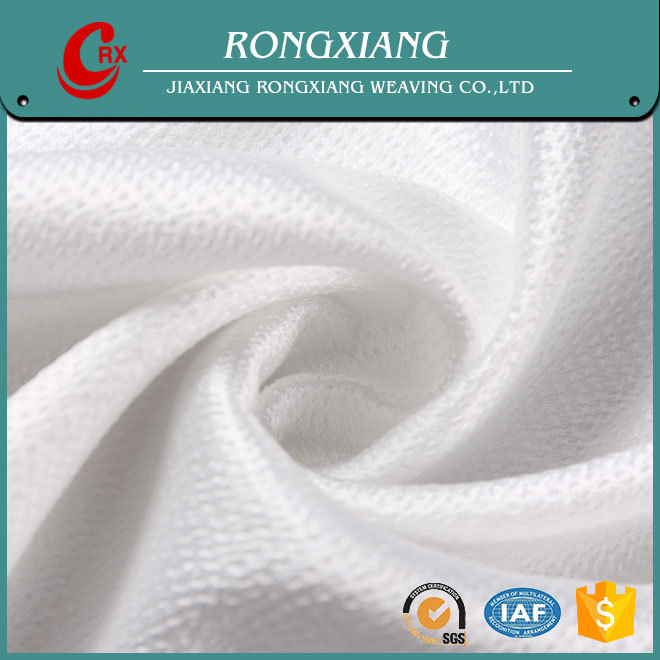 China Suppliers China wholesale Custom Garment polyester jacquard stretch satin fabric