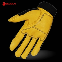 Wholesale poor quantity and cheap price mechanical cotton working gloves