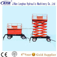 scissor hydraulic lift table for outworking/man lift
