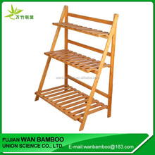 2017 Personalized Bamboo Bookcase with Ladder