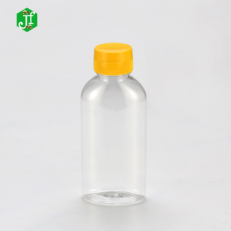 China Supplier Plastic Beverage Bottle Eempty Transparent Bulk Sale 200ml 300ml 400ml 500ml Mini PET Plastic Square Juice Bottle