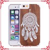 unique design wood case for iphone 6,mobile wood phone case cover for apple iphone6