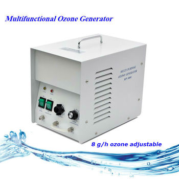 8 g/h industrial and commercial Ozone Generator for water and air purification