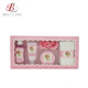 New design paper box rose body lotion bath and body gift set