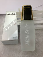 long lasting fragrance transparent bottle perfume for men