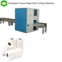 Full automatic log saw toilet paper cutting machine
