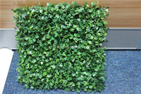 plastic fake turf artificial plastic fake boxwood mat
