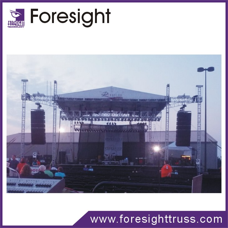 Aluminum lighting and line array truss 290mm with wing