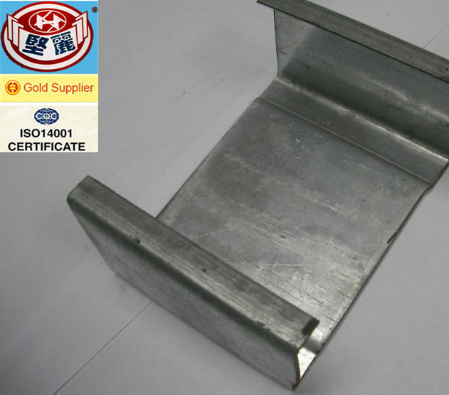 quality guaranteed roofing purlin c section / Omega channel light steel